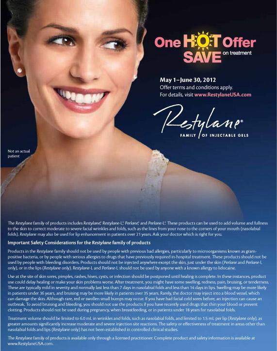 Restylane Flyer